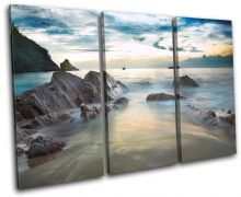 Beach Sunset Seascape - 13-1161(00B)-TR32-LO